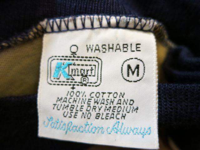 8/1(土)入荷!70'S all cotton ボーダーポケットTシャツ!_c0144020_15541013.jpg