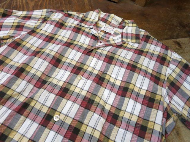 8/1(土)入荷!60'S PILGRIM オープンカラーボックスシャツ!_c0144020_1629321.jpg