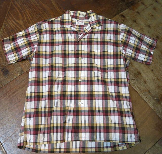 8/1(土)入荷!60'S PILGRIM オープンカラーボックスシャツ!_c0144020_1629530.jpg