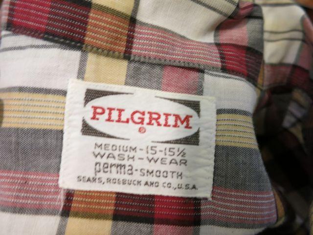 8/1(土)入荷!60'S PILGRIM オープンカラーボックスシャツ!_c0144020_1629651.jpg