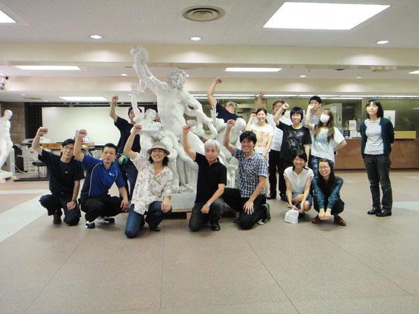 新たな大石膏像が仲間入り!_f0227963_20275141.jpg