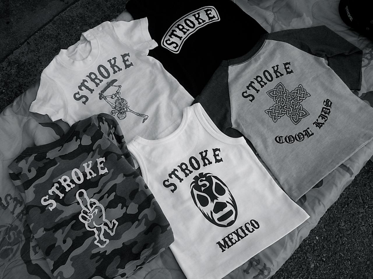 8/1 STROKE PRINT&STENCIL WORKS !!!!_d0101000_19214346.jpg