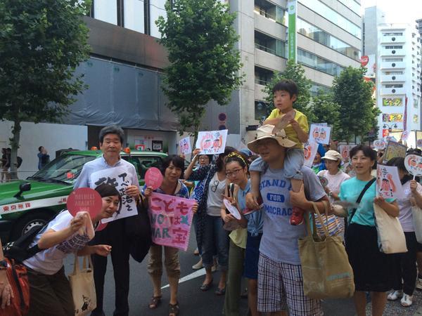 渋谷で戦争法案反対・高校生がデモ 応援の大人たち含め5000人が参加_f0212121_23464589.jpg