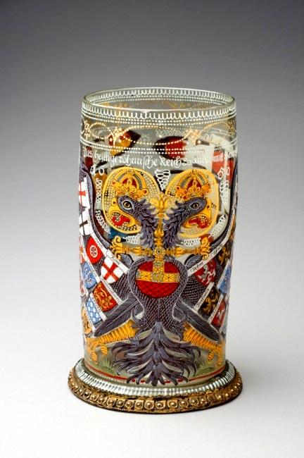 神戸市立博物館「耀きの静と動 ボヘミアン・グラス展」_b0165872_1236870.jpg