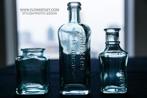 glass bottles@NHKレッスン_c0137872_23234971.jpg