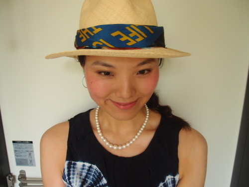 帽子アレンジ_c0342582_15511406.jpg