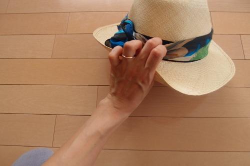 帽子アレンジ_c0342582_16322056.jpg