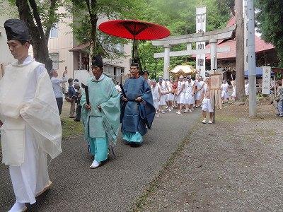 浦佐白山神社夏まつり    兼続公まつり_b0092684_16162665.jpg