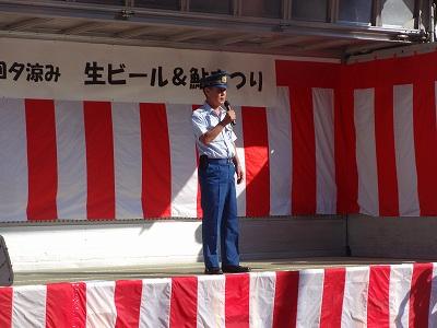 第6回 夕涼み「生ビール&鮎まつり」_b0092684_186033.jpg