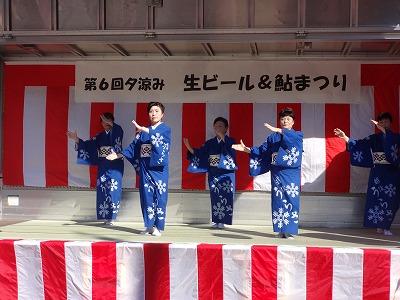 第6回 夕涼み「生ビール&鮎まつり」_b0092684_1875957.jpg