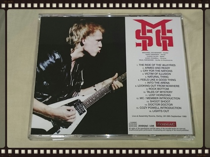 THE MICHAEL SCHENKER GROUP / DERBY 1980_b0042308_14425534.jpg
