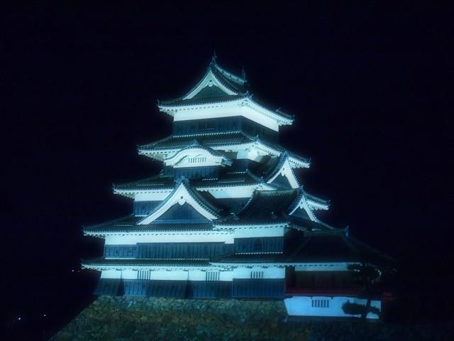 松本城 ライトアップ_d0295818_18545767.jpg