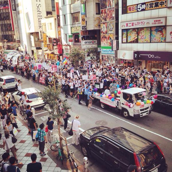 渋谷で戦争法案反対・高校生がデモ 応援の大人たち含め5000人が参加_f0212121_015469.jpg