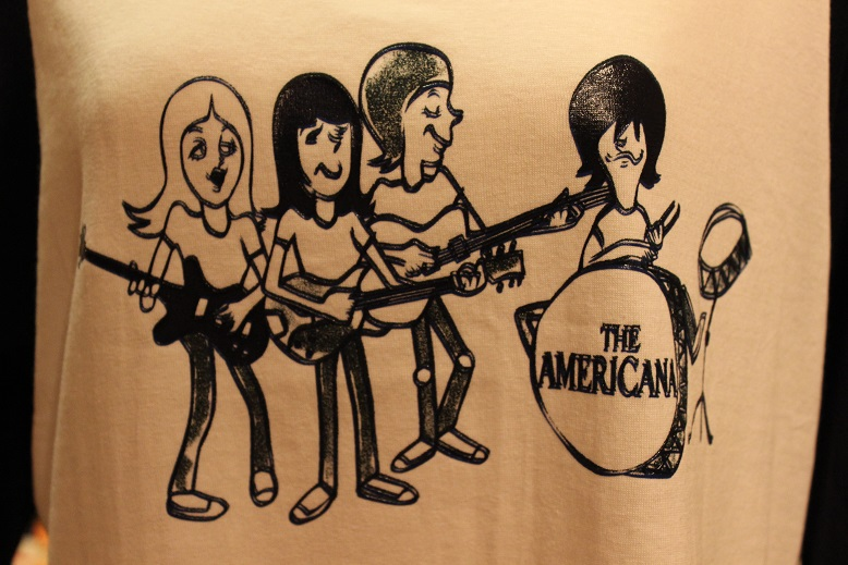 "Americana ""BAND & RUN PRINT B/BALL TEE\"" ご紹介_f0191324_0424869.jpg"