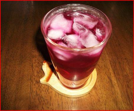 紫蘇ジュース..出来ました。_b0137932_23325371.jpg