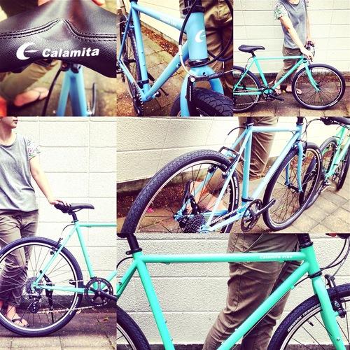☆試乗車あります☆「 Calamita CIAO 」 カラミータ チャオ おしゃれ自転車 クロスバイク 26 自転車ガール_b0212032_2116161.jpg