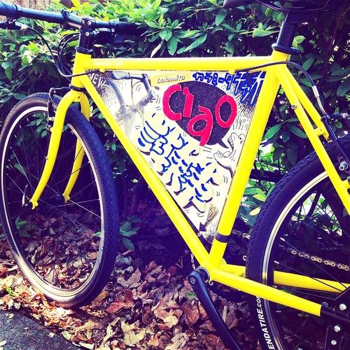 ☆試乗車あります☆「 Calamita CIAO 」 カラミータ チャオ おしゃれ自転車 クロスバイク 26 自転車ガール_b0212032_211689.jpg