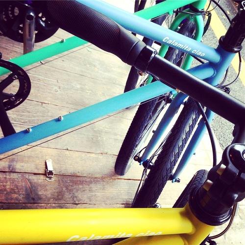 ☆試乗車あります☆「 Calamita CIAO 」 カラミータ チャオ おしゃれ自転車 クロスバイク 26 自転車ガール_b0212032_21202677.jpg