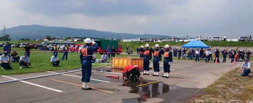 消防訓練大会_f0081443_9222287.jpg
