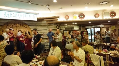北東北3県人会合同納涼ビアパーティ開催しました_a0165546_1035018.jpg