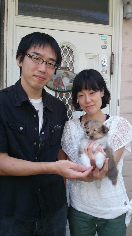 子犬のお迎え2_a0139367_21453750.jpg