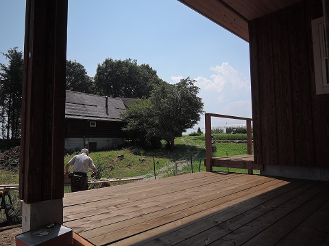 高根町K本さん邸の現場より 22_a0211886_16213220.jpg