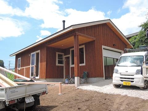 高根町K本さん邸の現場より 22_a0211886_1661262.jpg