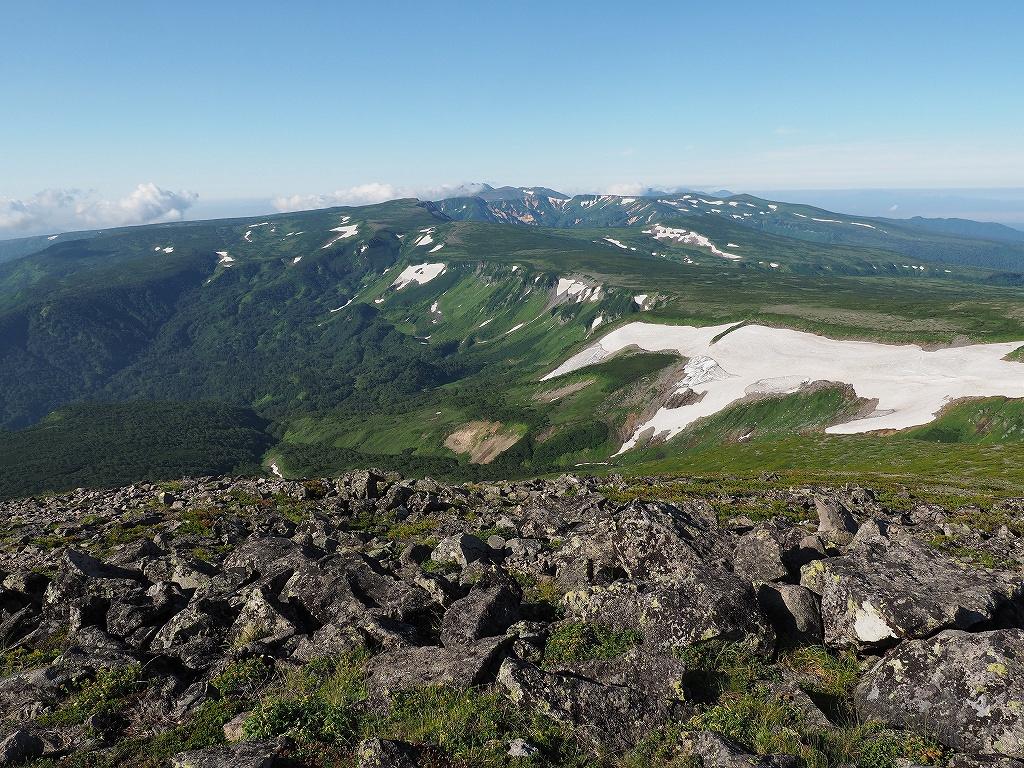 大雪山3色(緑岳、白雲岳、赤岳)登山、8月3日-速報版-_f0138096_19411724.jpg
