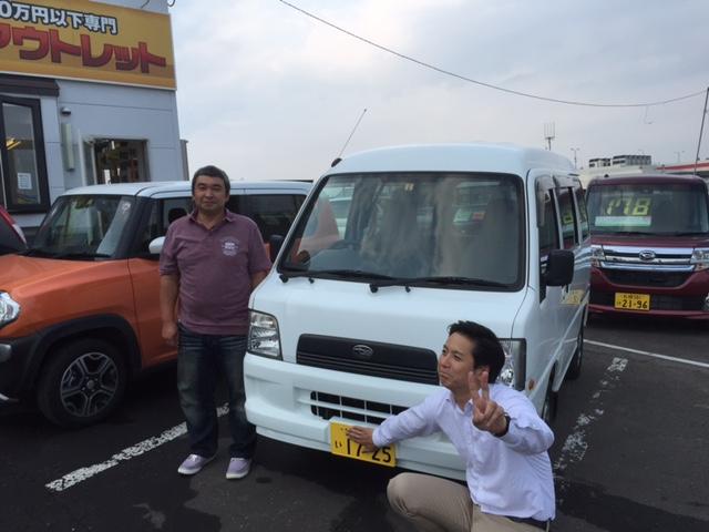 8月4日(火)TOMMYアウトレット♪♪T様サンバー納車!!!☆_b0127002_18451627.jpg