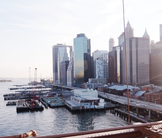 夏のニューヨーク、ブルックリン・ブリッジを渡ってみよう_b0007805_1033860.jpg
