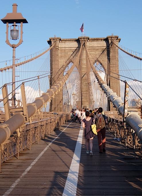 夏のニューヨーク、ブルックリン・ブリッジを渡ってみよう_b0007805_9142736.jpg