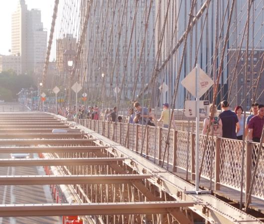 夏のニューヨーク、ブルックリン・ブリッジを渡ってみよう_b0007805_9144717.jpg