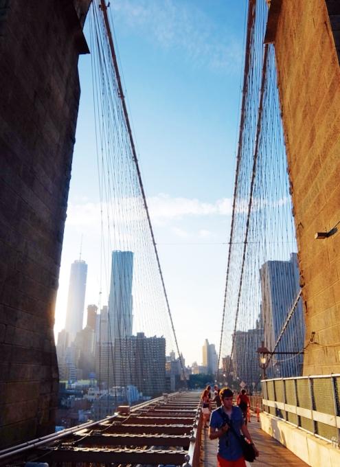 夏のニューヨーク、ブルックリン・ブリッジを渡ってみよう_b0007805_9152751.jpg