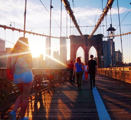 夏のニューヨーク、ブルックリン・ブリッジを渡ってみよう_b0007805_9164145.jpg