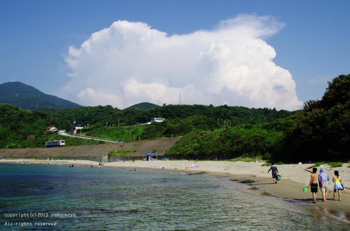夏の海の帰り道_d0309612_037139.jpg