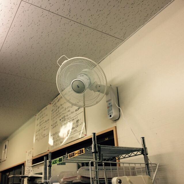 壁掛け扇風機_d0085634_1639627.jpg