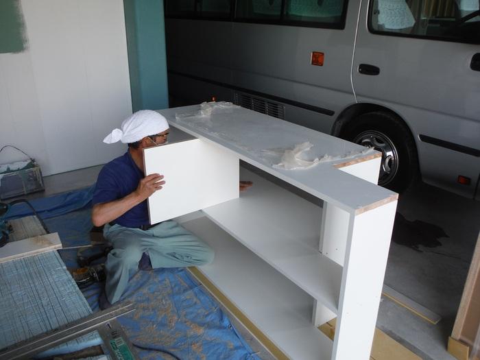 事務所の室内改装 ~ その他の工事_d0165368_1682332.jpg