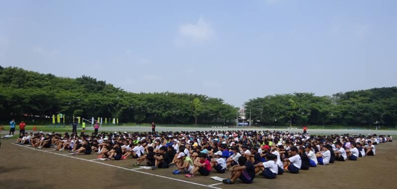 中学生のための陸上競技教室_f0059673_19024924.jpg