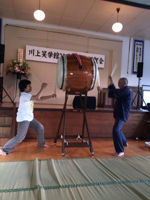川上笑学館20周年記念式典_d0182179_19533155.jpg