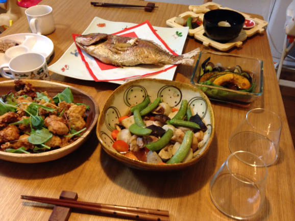 お食い初めと誕生日会_a0188798_13545156.jpg