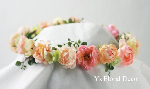 春色のお花のブーケ&花冠_b0113510_10513088.jpg