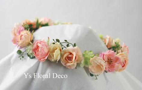 春色のお花のブーケ&花冠_b0113510_1051359.jpg