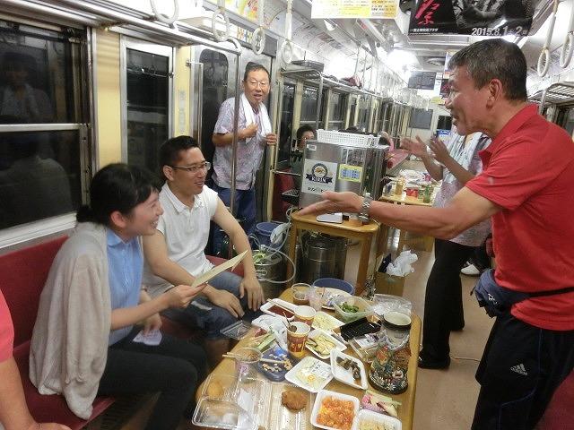 久しぶりに乗って満喫「がくちゃん ビール電車」_f0141310_7114920.jpg