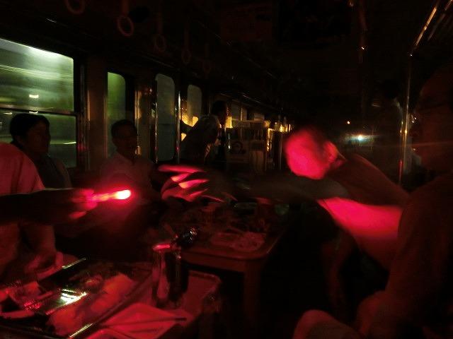 久しぶりに乗って満喫「がくちゃん ビール電車」_f0141310_7122223.jpg