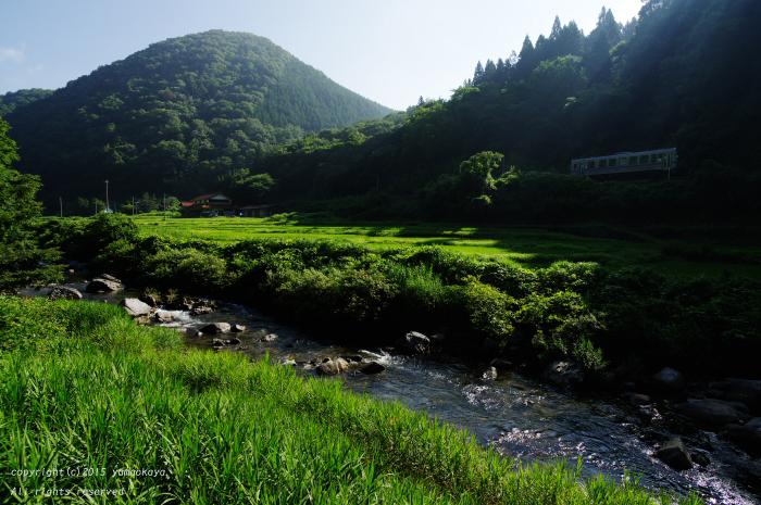 川の音と朝陽と_d0309612_019411.jpg