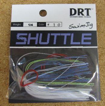 DRT シャトル1/4oz & 3/8oz 入荷しました。_a0153216_0165321.jpg
