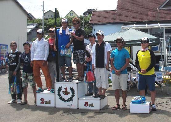 第10回 琵琶湖でバスフィッシングを楽しもう会 上位チーム_a0153216_17562714.jpg