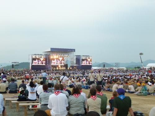 7月29日 世界スカウトジャンボリー開幕_c0104626_11173737.jpg