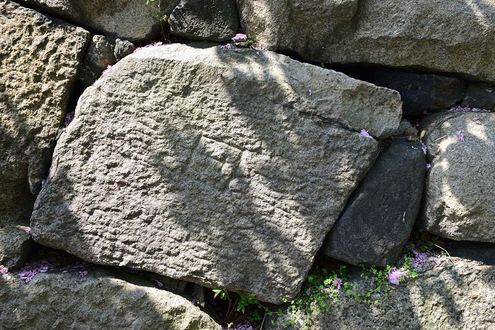 大坂の陣400年記念大坂城攻め その7 ~刻印石、巨石~_e0158128_19223147.jpg