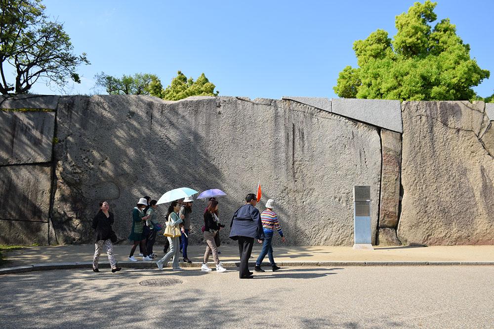 大坂の陣400年記念大坂城攻め その7 ~刻印石、巨石~_e0158128_1942618.jpg